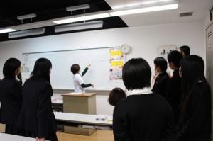 山口県立厚狭高等学校2年生の皆さんが来校されました!