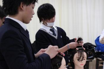 高川学園高等学校の1年生が体験に来られました☆★
