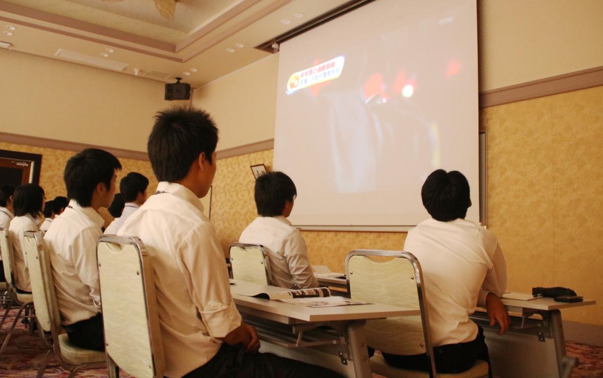 福岡県門司警察署の採用ガイダンスが行われました