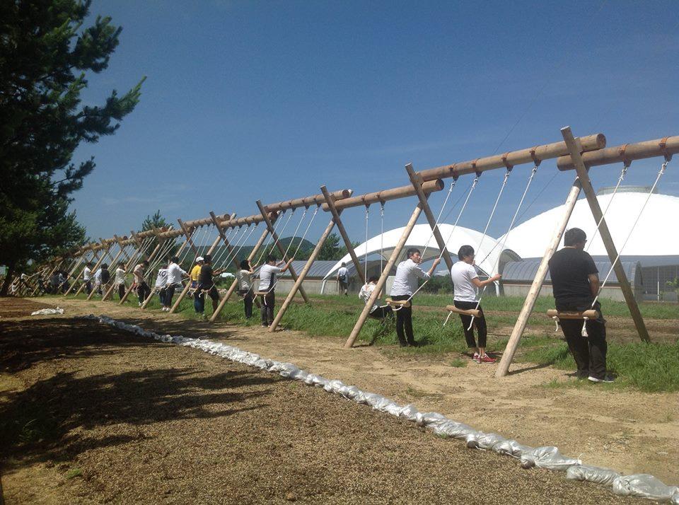 7月10日(火)、山口きらら博記念公園で「ゆめ花博」のプレスツアーに参加しました