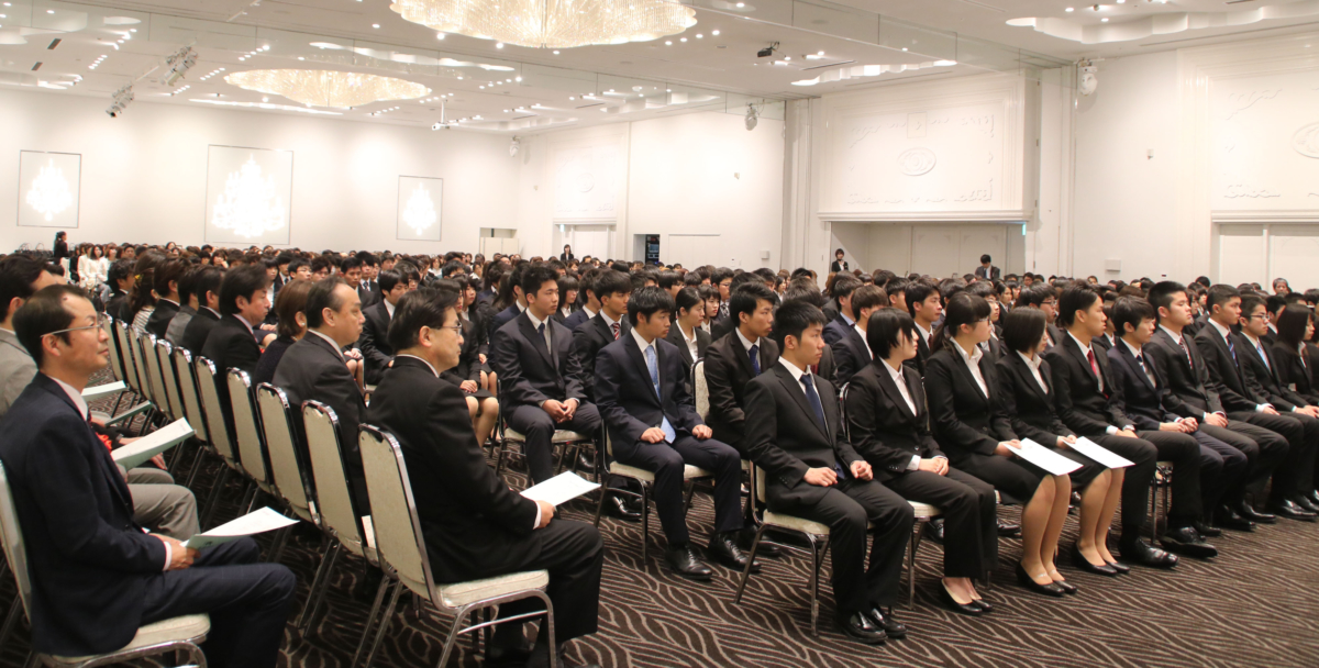 平成30年度 YIC公務員専門学校入学式