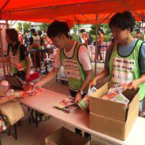 7月1日、維新みらいふスタジアムで行われました「レノファ山口FCvs.横浜FC」で、公務員学科の学生20名がボランティアに参加してきました!