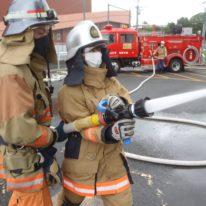 インターンシップ実習「山口南消防署」