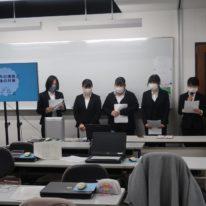 卒業研究発表会を行いました!