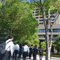 校外学習で山口県庁と山口県警本部を訪問しました!