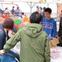 「第29回おごおり福祉まつり」にボランティアに参加しました!