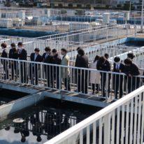 山口市にある朝田浄水場を見学しました!