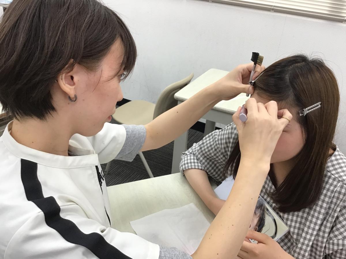 【医療事務】メイクの特別授業!