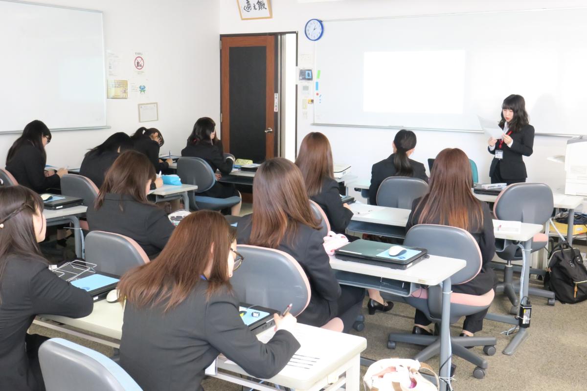 【医療事務学科】病院実習報告会が行われました!
