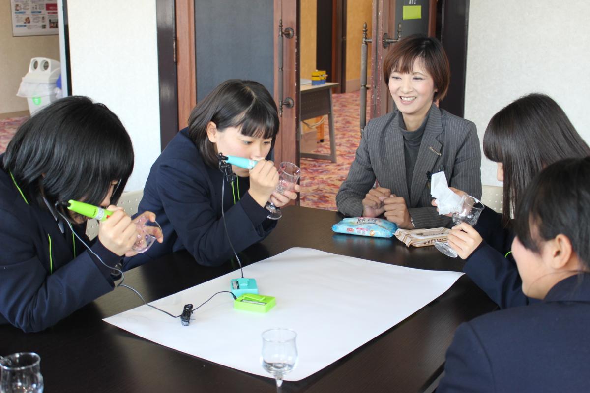 萩光塩高等学校の皆さま ようこそYICへ!