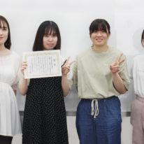 【医療事務】電卓競技大会の支部予選会で準優勝しました!