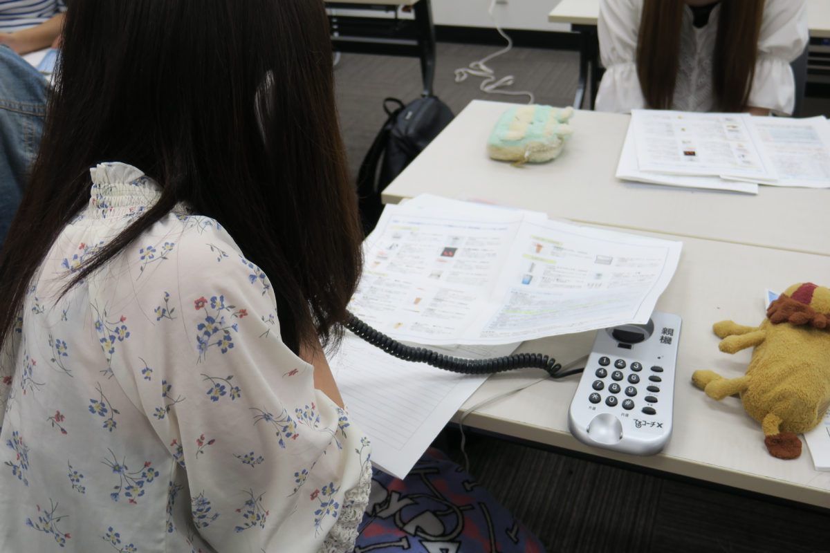 電話応対コンクール勉強会が実施されました!