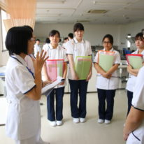 看護学科実習シュミレーション