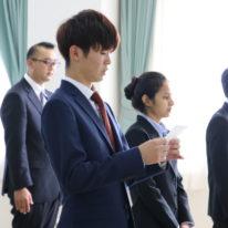 介護福祉学科1年生 実習結団式!