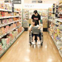 車椅子でお買い物へ!
