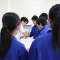 誠英高校の生徒さんが福祉実習に来られました