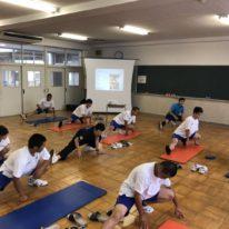 香川高等学校&YICリハ大連携講座 部活で役立つウォーミングアップ!!