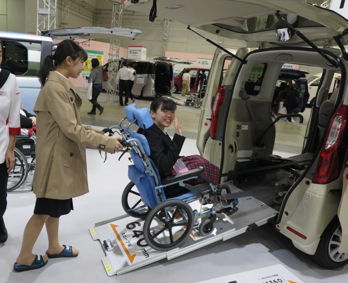 西日本国際福祉機器展に行ってきました!